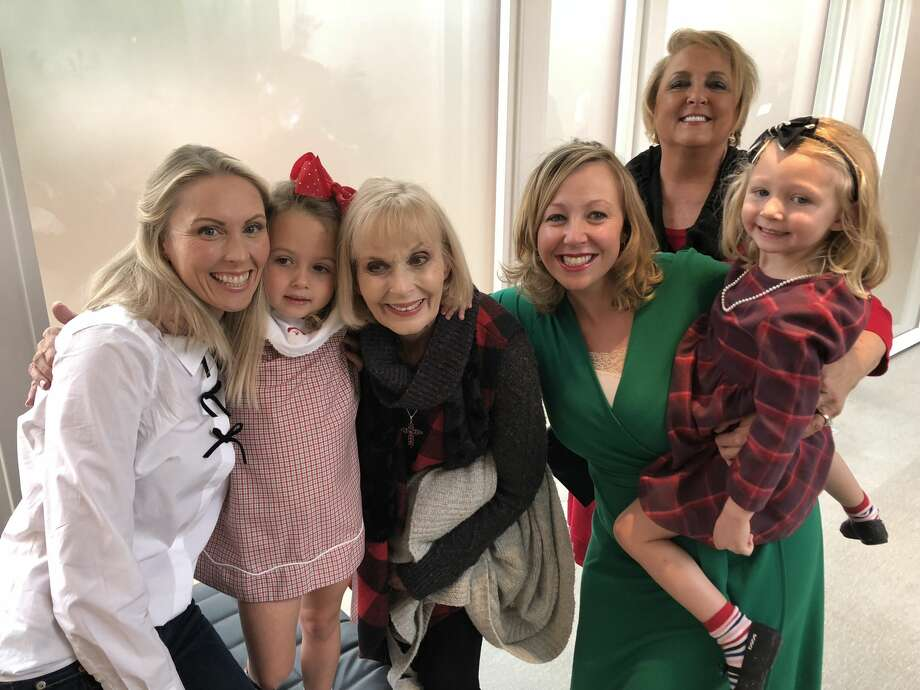 Mother-Daughter Brunch: Mycah Glover, from left, Emily Glover, Sandy Emerson, Kobi Lincoln, Wilma Nix and Ryleigh Lincoln  Photo: COURTESY PHOTO