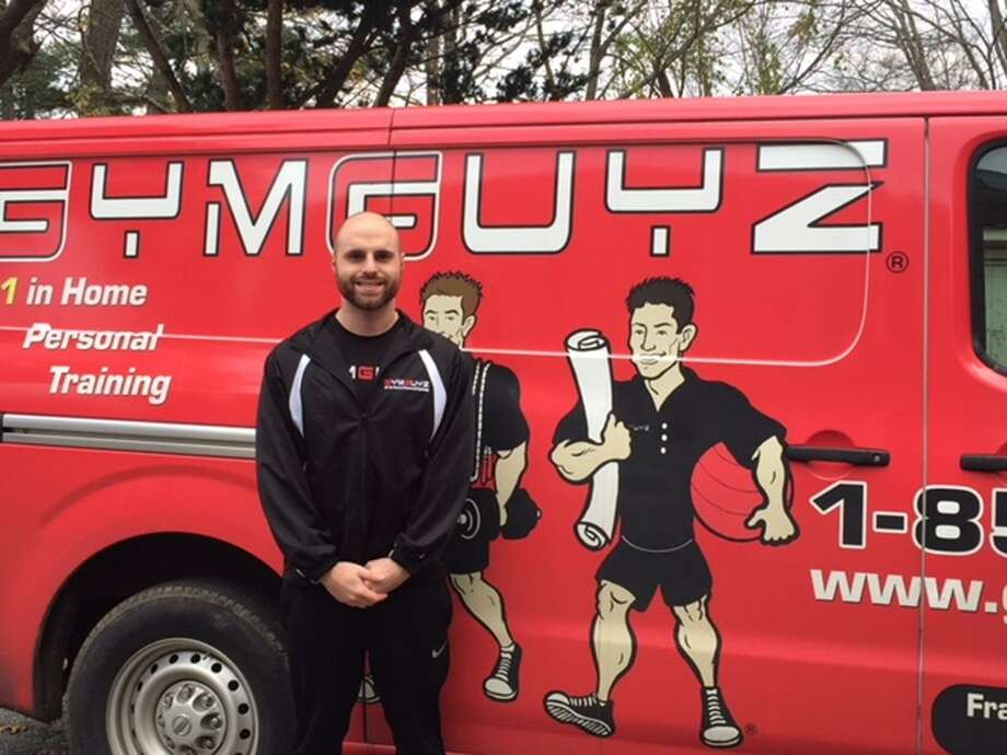 Dan Spano took over the mobile fitness GymGuyz franchise in Fairfield County. The Ridgefield, Conn., resident travels to clients' homes to lead workouts. Photo: Contributed Photo / Hearst Connecticut Media