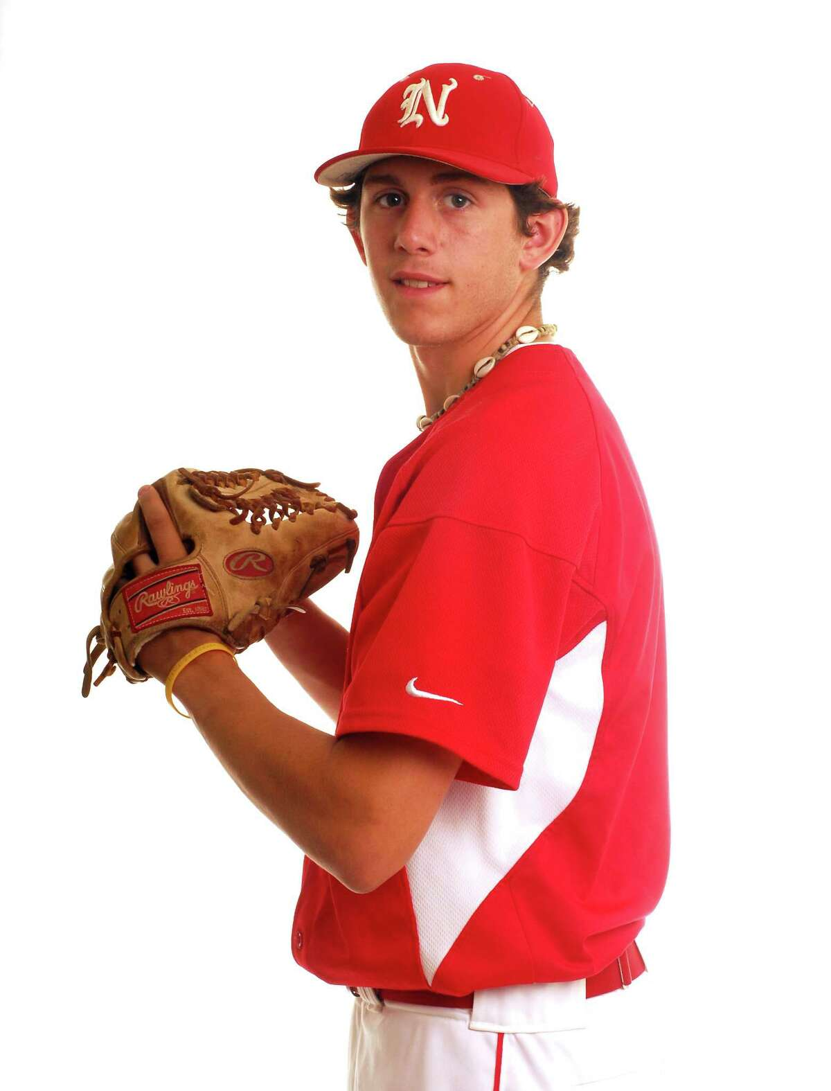 Photography by PETER HVIZDAK ph1079 # STUDIO, Connecticut- ALL-AREA BASEBALL: Dominic Leone, NFA, Norwich Free Academy