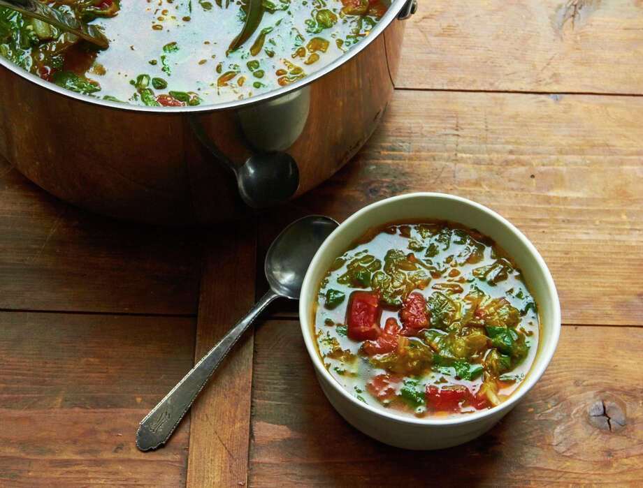Escarole and spinach soup Photo: Mia, UGC / Mia via Katie Workman