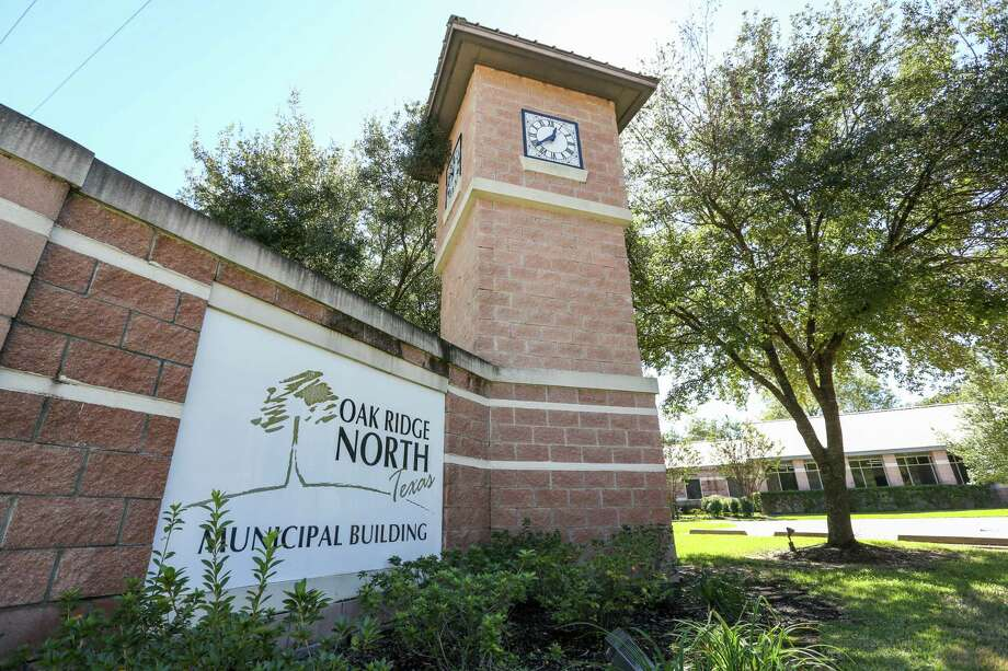 The Oak Ridge North Municipal Building is pictured on Monday, Oct. 23, 2017. Photo: Michael Minasi, Staff Photographer / © 2017 Houston Chronicle