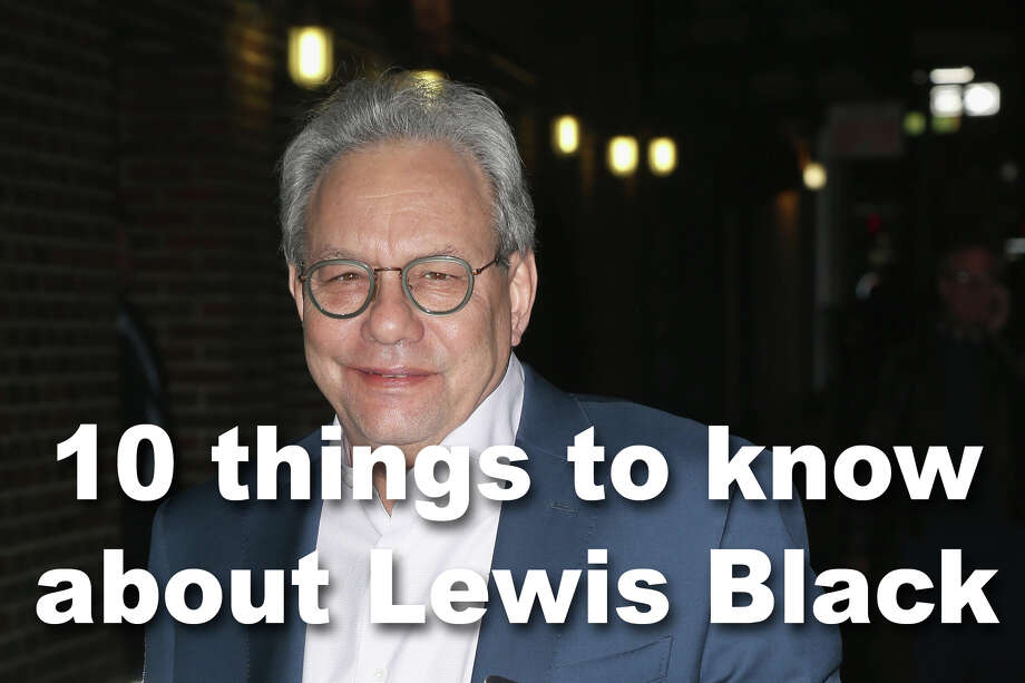 Lewis Black is known today as a stand-up comedian with a lot of sometimes angry opinions about issues of the day, not the least of which, the current presidential administration. But there's more to this finger-waving comic than that. Photo: Karl Moor/GC Images