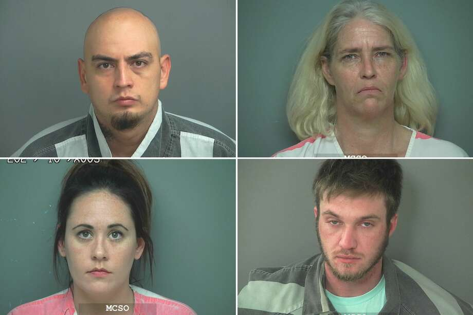 The following people were arrested and charged with felony driving while intoxicated offenses over the holiday season in Montgomery County. Photo: Mongtomery County Jail