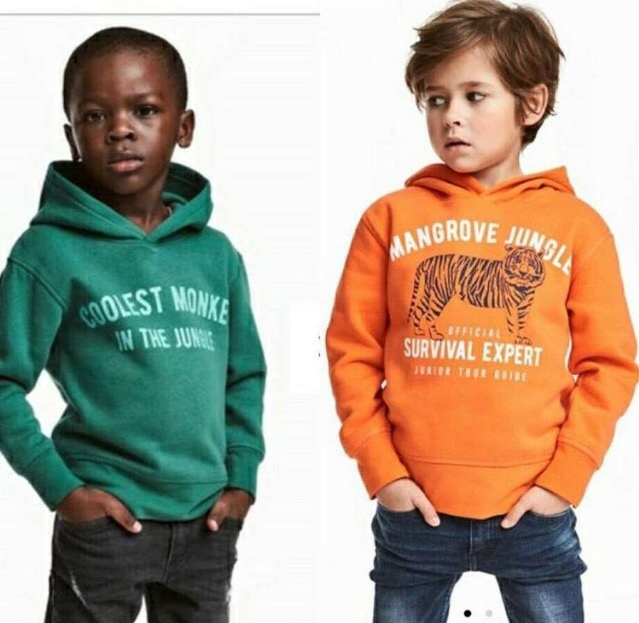 83c757396870 H M apologizes for ad of black child in  monkey  hoodie - Houston ...