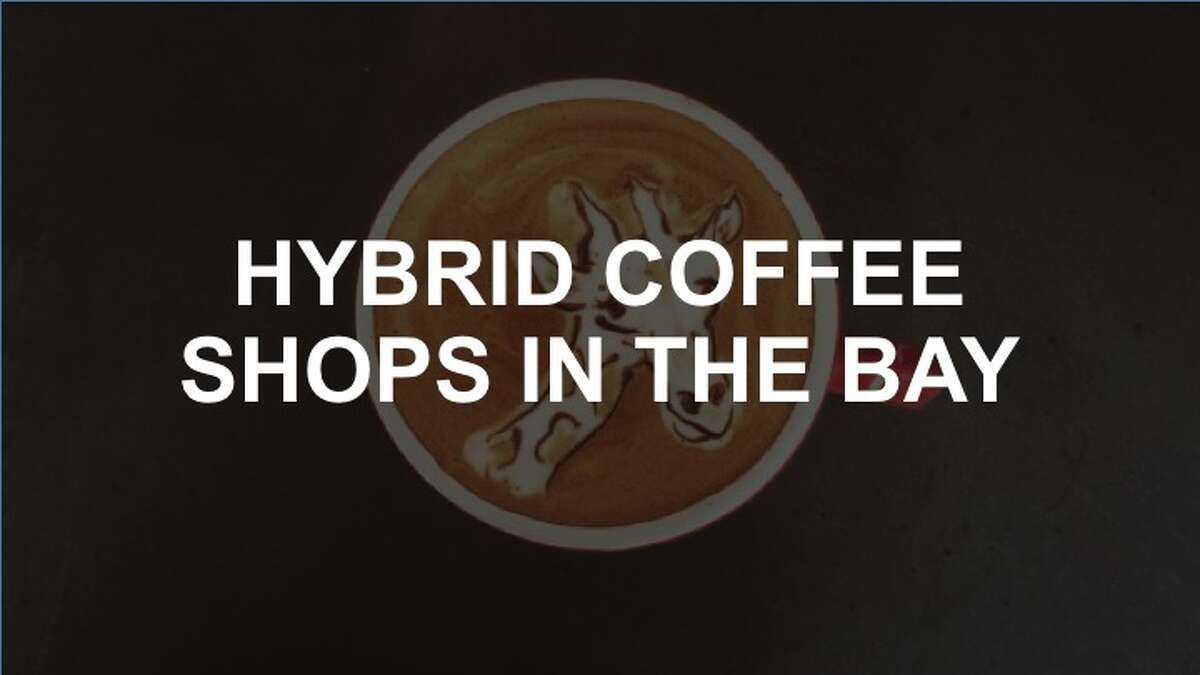 Click through the slideshow to see some of the Bay Area's hybrid and untraditional coffee shops.