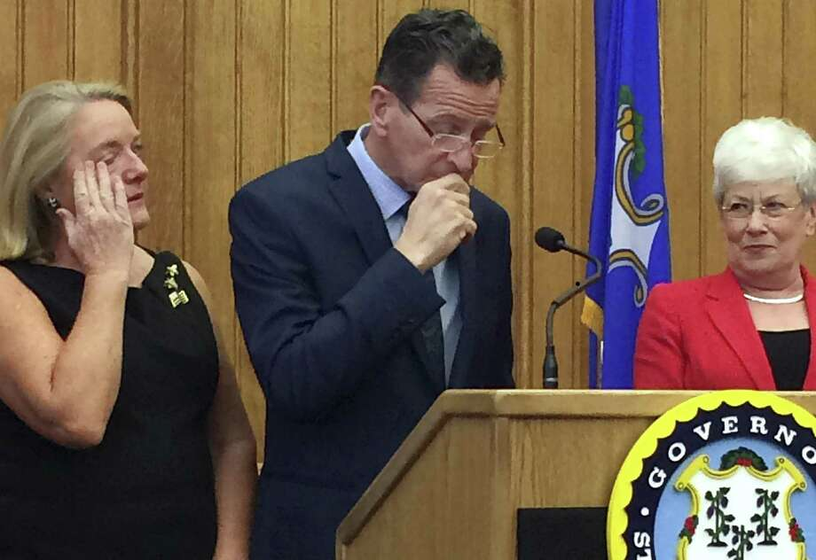 Gov. Dannel P. Malloy speaks last year. Photo: Susan Haigh / Associated Press / Copyright 2017 The Associated Press. All rights reserved.
