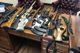 A joint investigation between the Jasper County Sheriff's Office and the Newton County Sheriff's Office led to the recovery of several guns and netted three arrest.