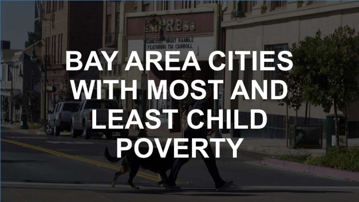 Click through the slideshow to see how the Bay Area's neighborhoods rank in terms of child poverty.