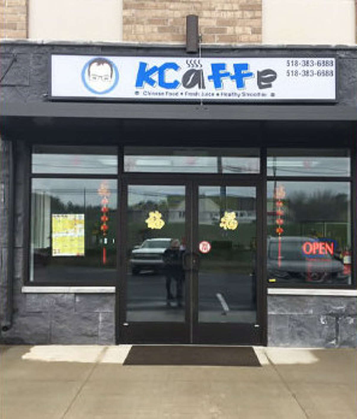 Kcaffe in Clifton Park opened in spring 2017.