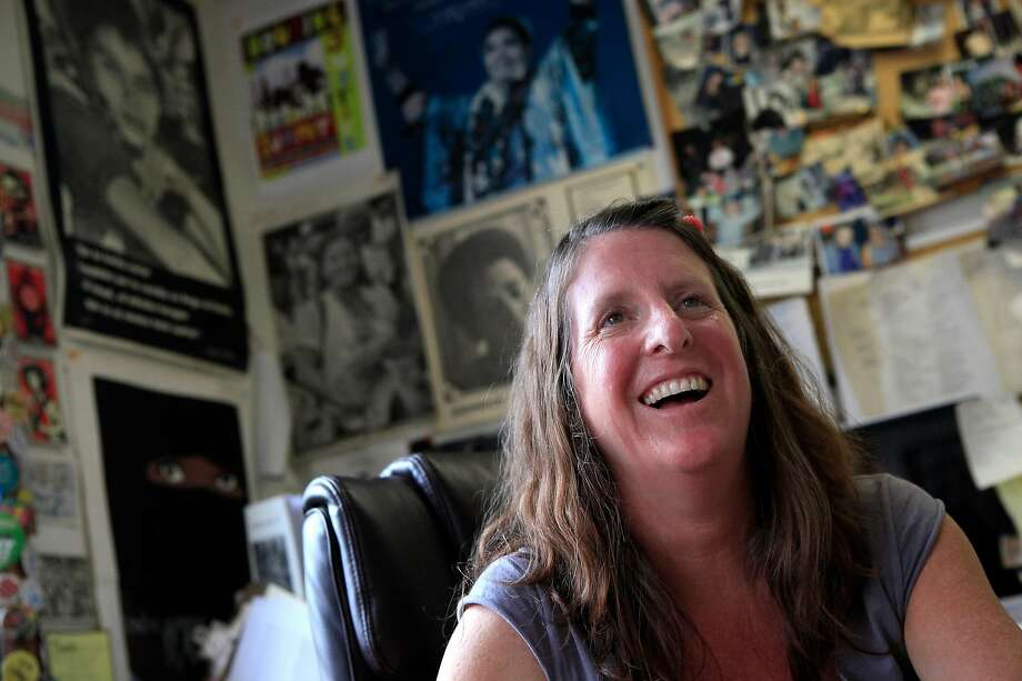 Jennifer Friedenbach is one of the organizers of the San Francisco Women's March. Photo: Michael Short, The Chronicle