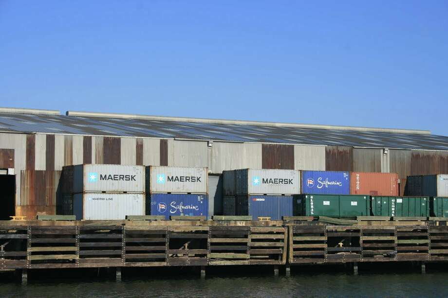 Containers await their next journey at Port Houston's docks. Photo: Bill Montgomery