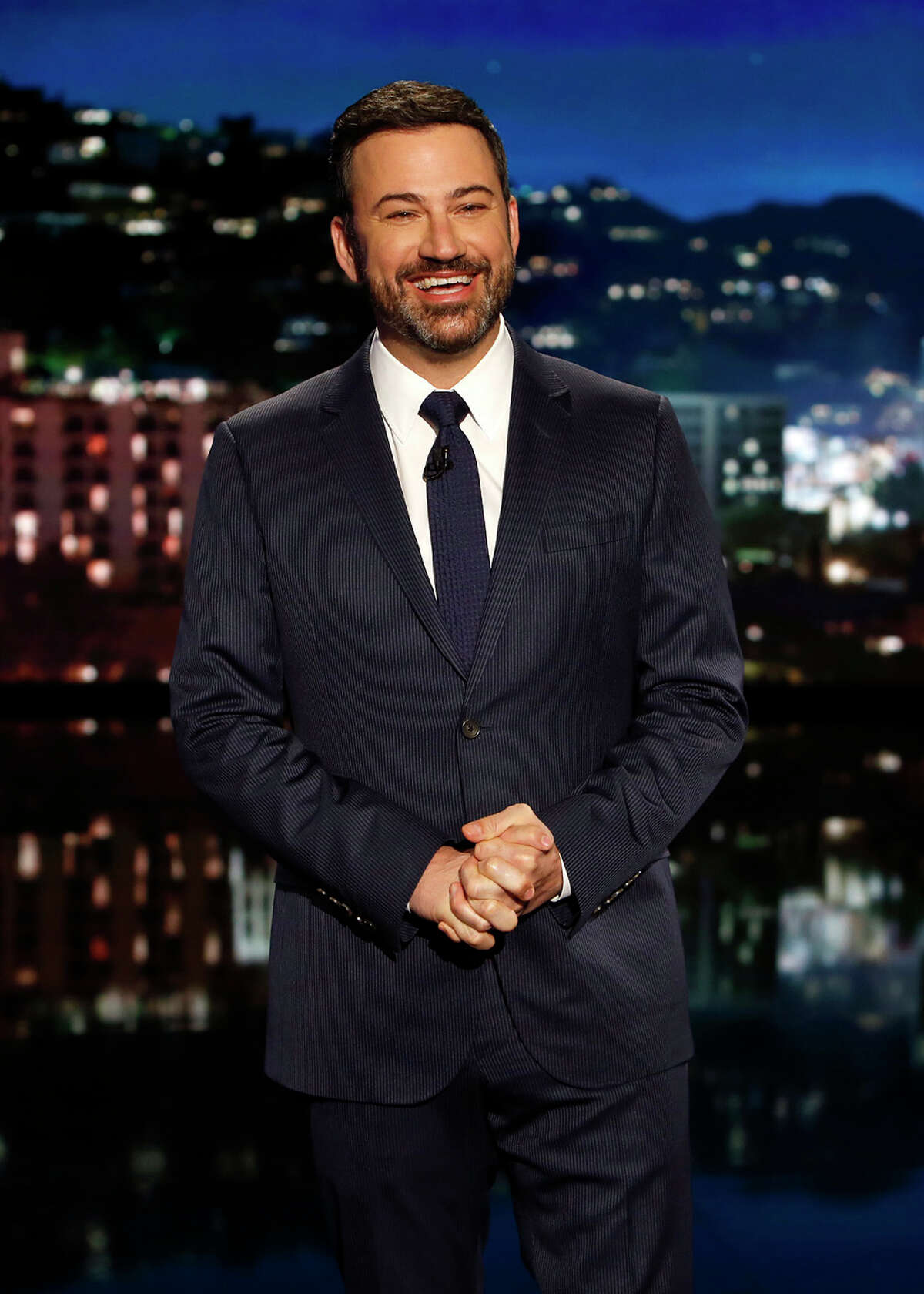 Jimmy Kimmel devoted the most time to Trump's comments on Thursday night.