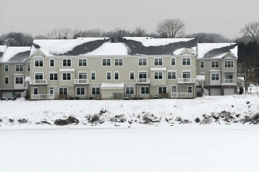 Admirals Walk condos and apartments are seen on Van Schaick Island along the Hudson River on Monday, Jan. 8, 2018 in Cohoes N.Y. (Lori Van Buren / Times Union)