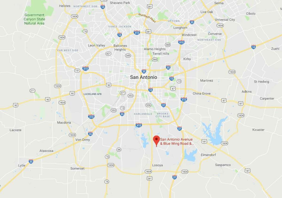A pedestrian was struck and killed Monday Jan. 8, 2018 near the intersection of Blue Wing Road and FM 1937.