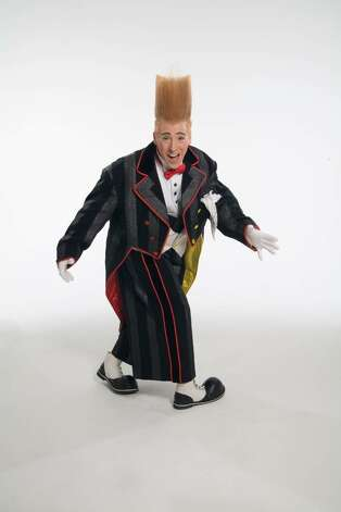 Bello Nock and the cast of Big Apple Circus bring their theatrics to Stamford's Mill River Park in July. Photo: Contributed Photo / Connecticut Post Contributed