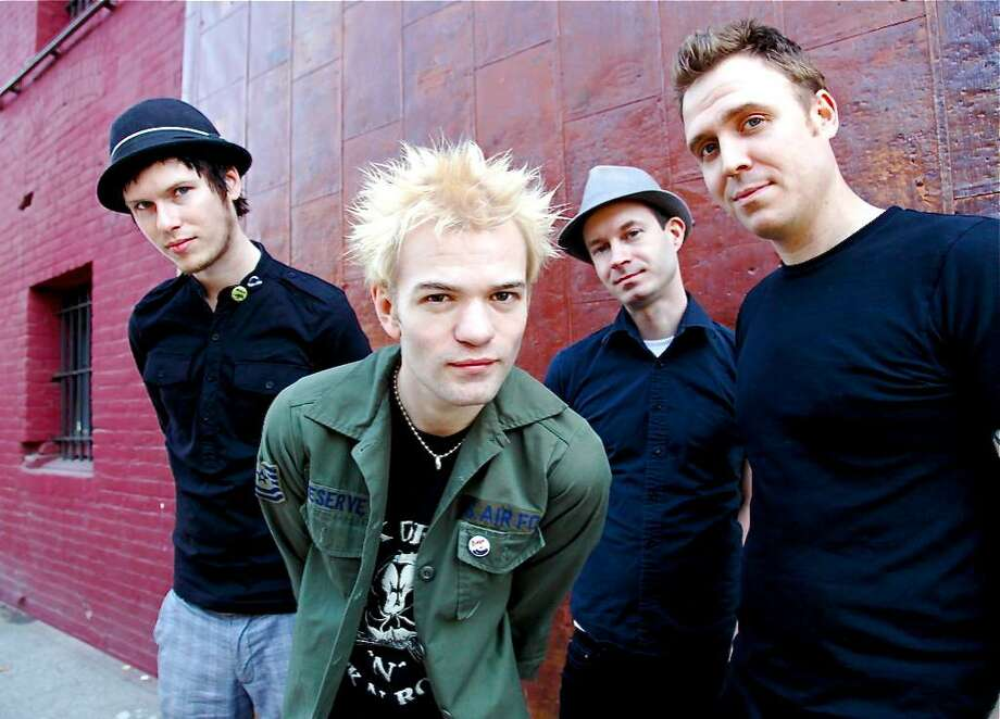 Canadian rock band Sum 41 performs at Warped Tour when the national concert tour stops in Hartford. Photo: Contributed Photo / Connecticut Post Contributed