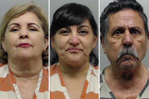 Three people arrested Friday after simultaneous raids on maquinitas are out on bond, according to custody records.