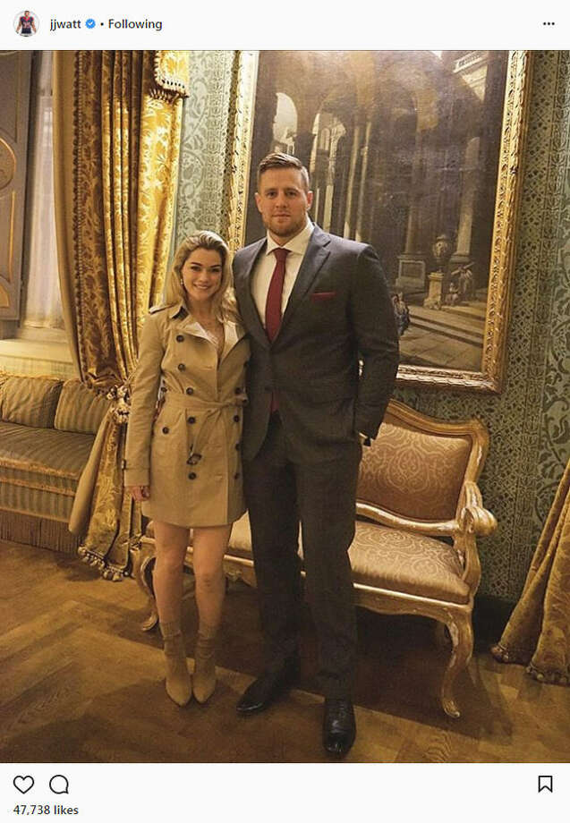 For the first weekend of 2018, Texans player J.J. Watt and his girlfriend, Houston Dash star Kealia Ohai, jetted off to Italy to have a romantic getaway in Rome.Source: Instagram Photo: Instagram