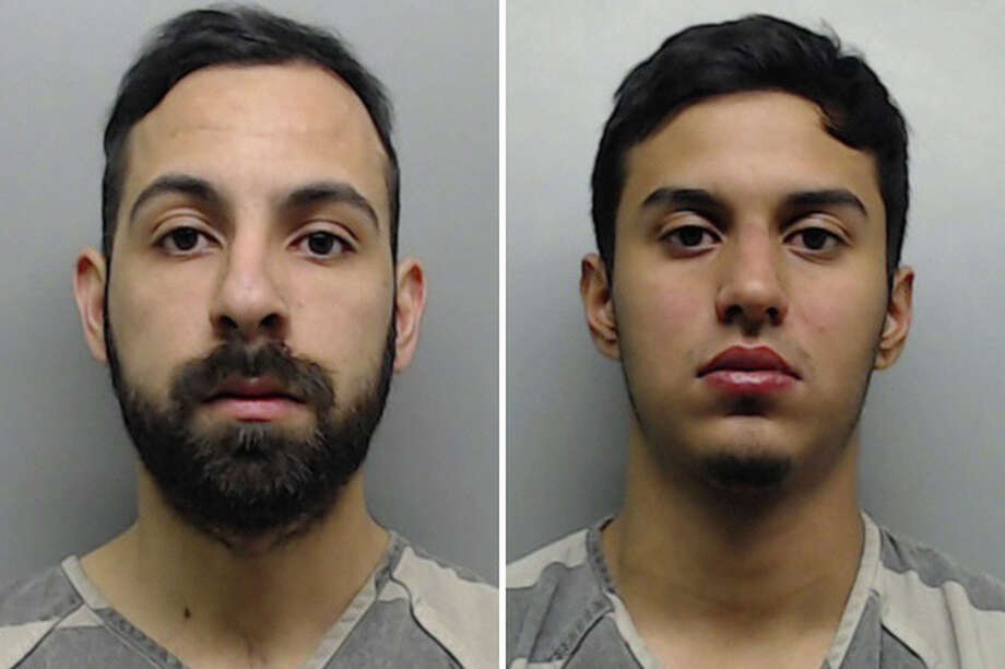 Felix Lopez, 23, and Jose Juan Morales, 19, were each charged with racing on a highway. They are out on bond. Photo: Courtesy