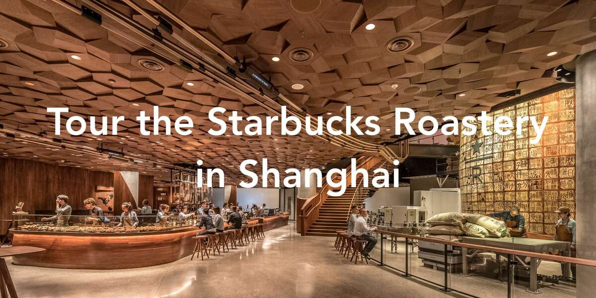 Starbucks announced Monday, Dec. 4, 2017 that it will open a Reserve Roastery in Shanghai, making it the first of the company's high-end cafes to open outside the U.S. Scroll through the slideshow to take a tour.