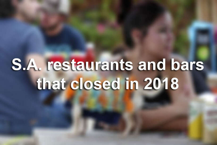The new year started with a series of popular eateries and gathering spots closing up shop, and announcements continue to roll in as 2018 plays out in the San Antonio food scene. Photo: SAEN