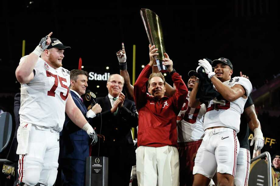 PHOTOS: Betting odds to win next year's college football championshipThere already are early gambling odds on next year's college football national champion, and Alabama is favored to repeat.Browse through the photos above for a look at the gambling odds on next year's college football national champion. Photo: Jamie Squire, Getty Images / 2018 Getty Images