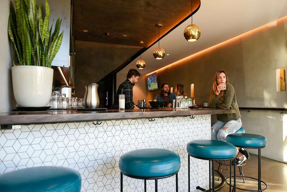 The bar at the White Cap cocktail bar in the Outer Sunset. Photo: Michael Short, Special To The Chronicle