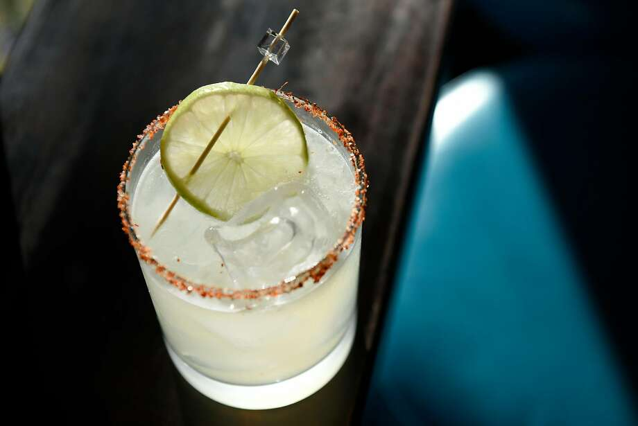 The Heat Gun made with mezcal, Sherry, aloe and lime at the White Cap in the Outer Sunset. Photo: Michael Short, Special To The Chronicle