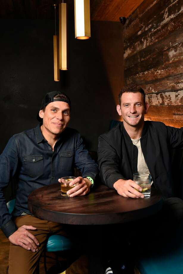 Head bartender Carlos Yturria (left) and owner Matt Lopez at White Cap in the Outer Sunset. Photo: Michael Short, Special To The Chronicle