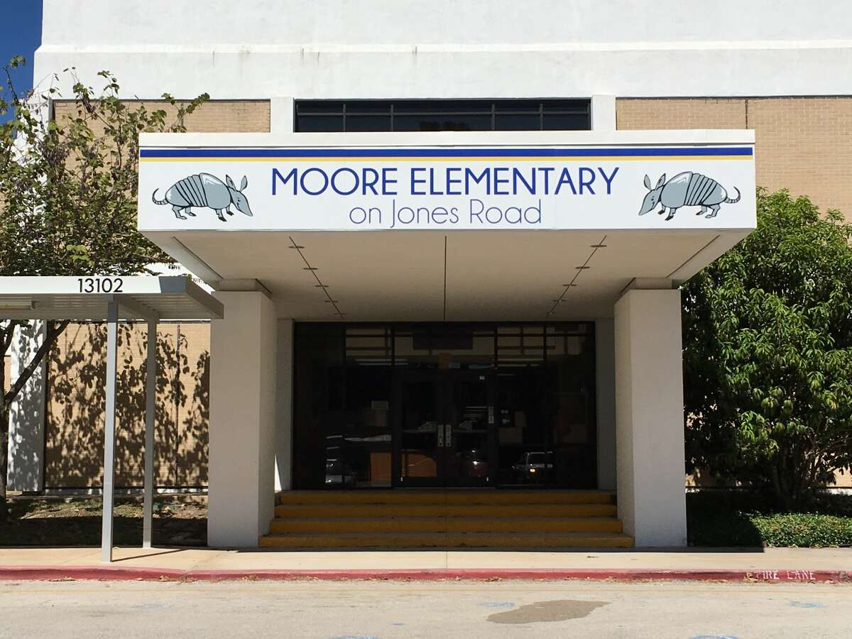 Moore Elementary now is known as Moore Elementary on Jones Road. It will occupy the Old Matzke Elementary campus at 13102 Jones Road for the rest of the school year.