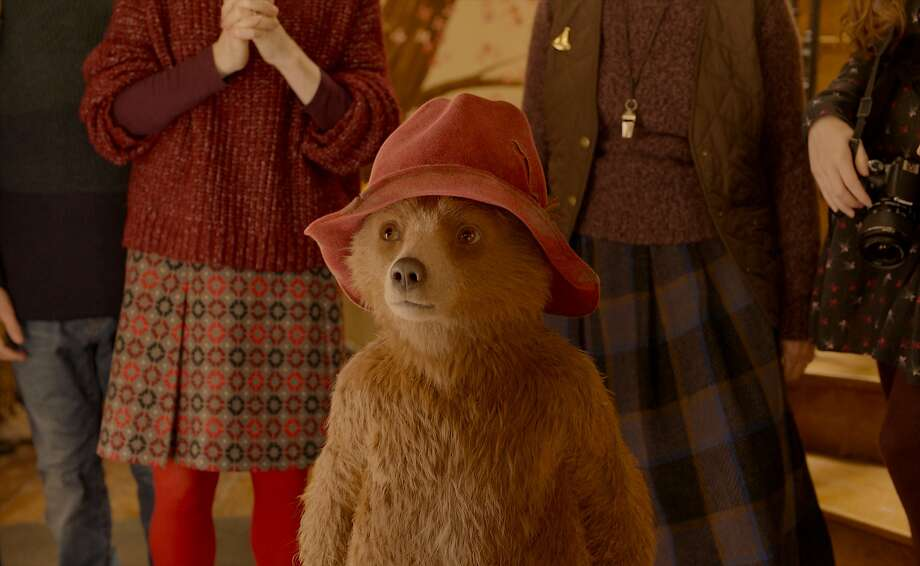 """This image released by Warner Bros. Pictures shows the character Paddington, voiced by Ben Whishaw, in a scene from """" Paddington 2."""" (Warner Bros. Pictures via AP) Photo: Associated Press"""