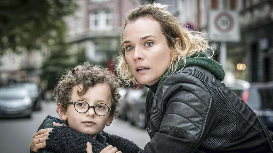 "Diane Kruger as Katja with Rafael Santana as her son in the German drama ""In the Fade."" Photo: Associated Press"