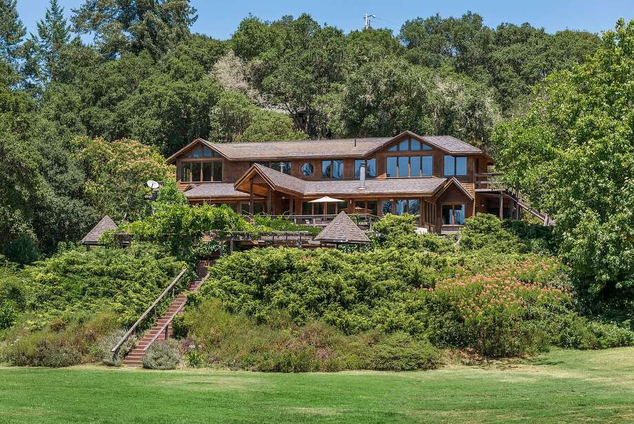 4950 Maddocks Road in Sebastopol is a five-bedroom sited on more than 20 acres.  Photo: Vanguard Properties