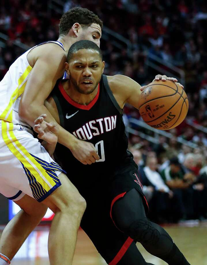 Eric Gordon has been doing a lot more driving and dishing since James Harden got hurt. Photo: Brett Coomer, Staff / © 2018 Houston Chronicle