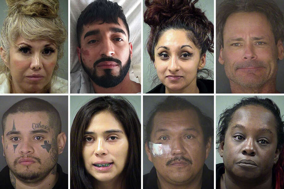 Fifty-nine people were arrested in Bexar County on felony drunken driving charges in December 2017, according to data from the Bexar County Sheriff's Office. Photo: Bexar County Sheriff's Office