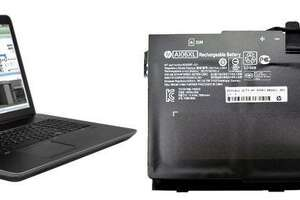 HP is recalling about 50,000 lithium-ion batteries for notebook computers and mobile workstations in the United States because the batteries can overheat, posing fire and burn hazards. Photo courtesy of the Consumer Product Safety Commission.