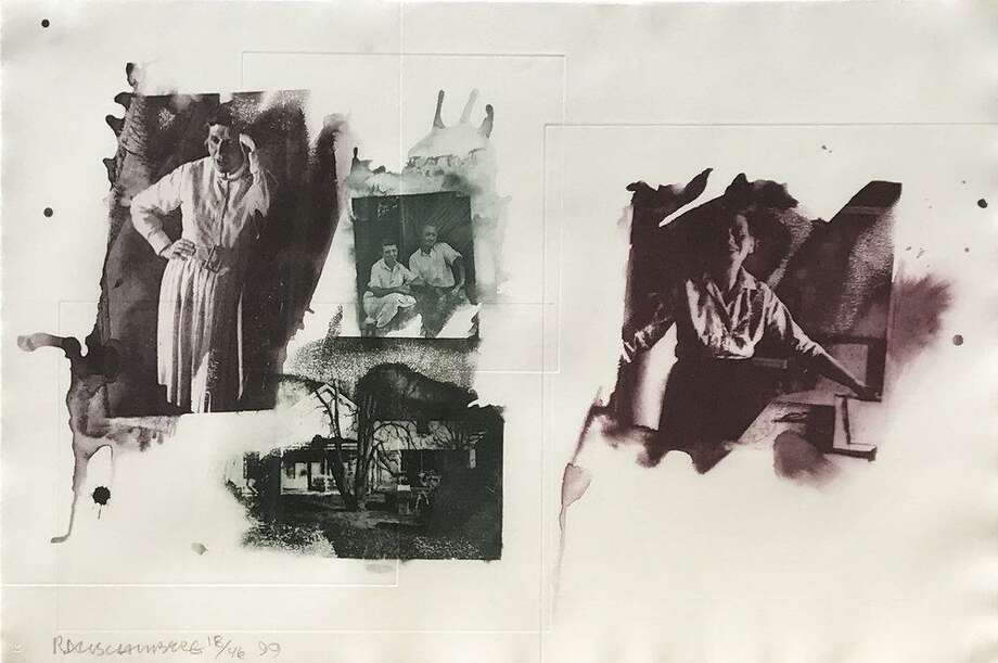 Robert Rauschenberg, Tanya, 2000, Photolithograph, Purchase; Acquisition Fund 2017.12. His work is featured at the Mattatuck Museum in Waterbury in January and February. Photo: Contributed Photo