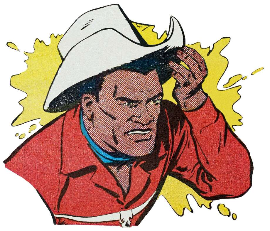 The Chisholm Kid was the first black cowboy in a comic strip in the 1950s. The Chisholm Kid highlights a new exhibit at the Institute of Texan Cultures. Photo: Courtesy The Museum Of UnCut Funk