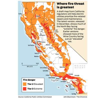 California fire-threat map not quite done but close ... on camarillo springs california map, california heat wave map, california mudslide map, california mudflow map, california radar map, california wildfires current, china earthquake map, california water map, california storm map, colorado wildfires 2013 map, california torrance los angeles map, california bridge collapse map, northern california map, california earthquake map, california wildlife map, norcal california map, california wildfires update, california jade map, california wildflower map, california landslide map,