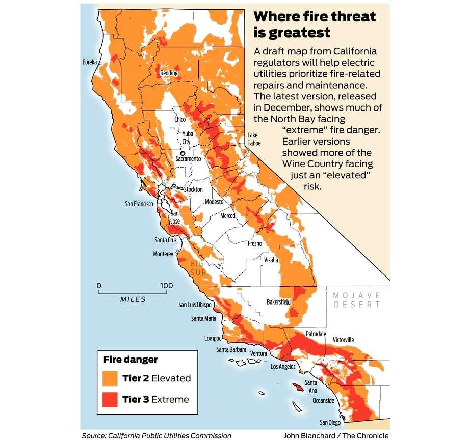 California firethreat map not quite done but close regulators