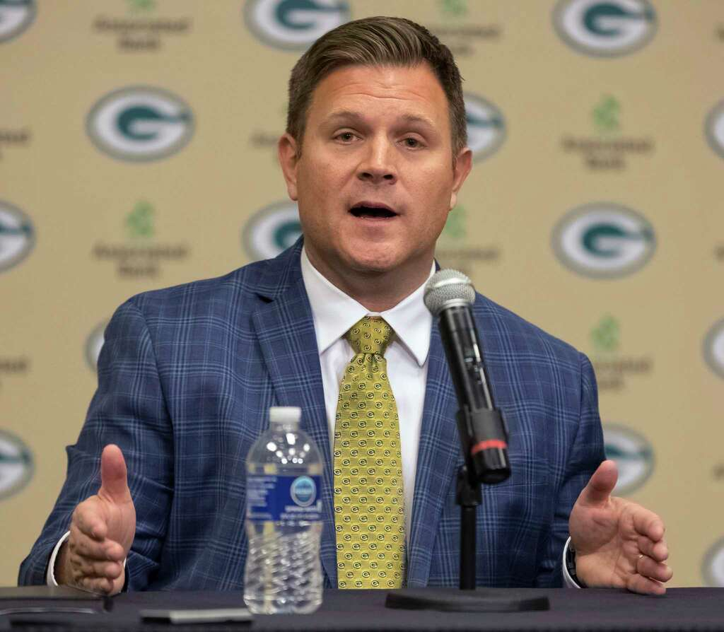 OUTBrian Gutekunst, Packers director of player personnelThe Texans were set to interview Gutekunst last weekend, but the Packers promoted him to general manager, so he's off the Texans' list. Photo: Mike Roemer, Associated Press / FR155603 AP