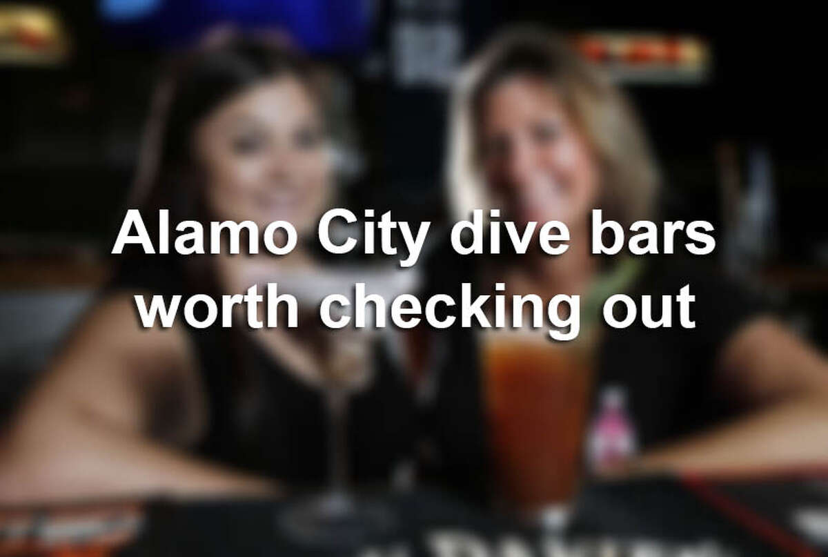 Click through for a tour of San Antonio dive bars that deliver cheap drinks (and eats) with a side of neighborhood comfort.