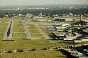 Acquiring land around San Antonio International Airport could be on the table if officials deem it necessary to expand the airfield's existing footprint to keep up with projected growth and passenger demand.