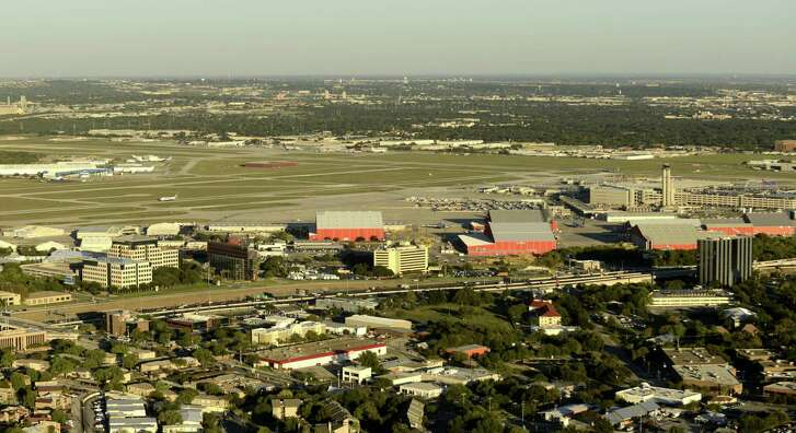 San Antonio International Airport last year. An airport task force should take control of the city's destiny and plan on an airport befitting one of the largest cities in the country.