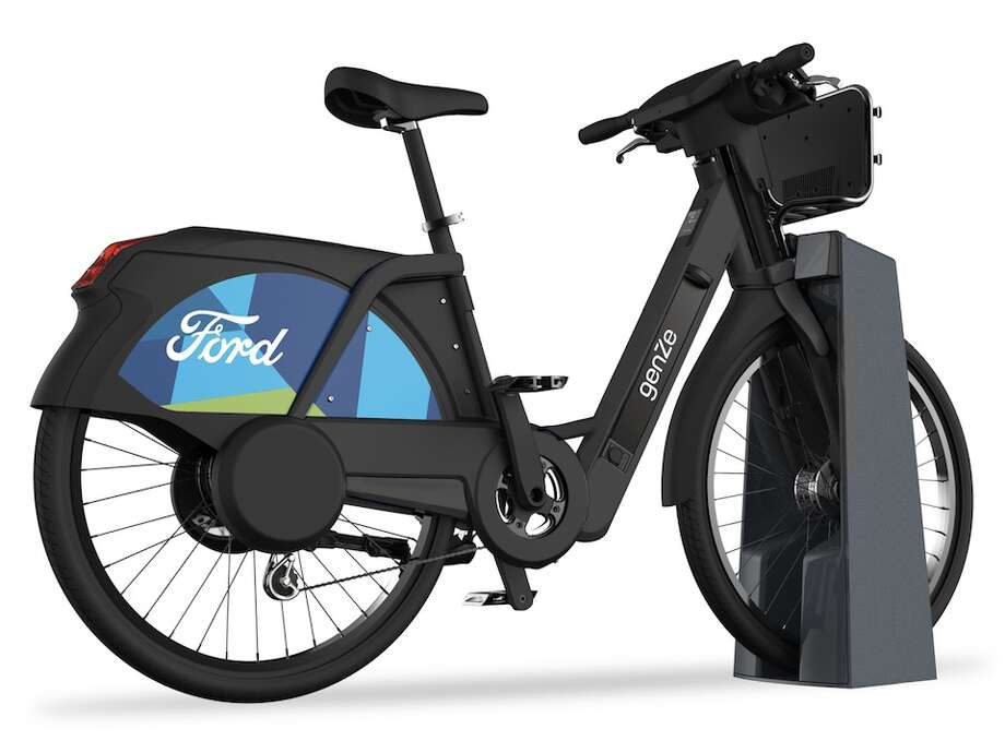 In April, Motivate will deploy 250 e-bikes produced by Fremont-based company GenZe at docking stations around the city. Photo: Ford GoBike