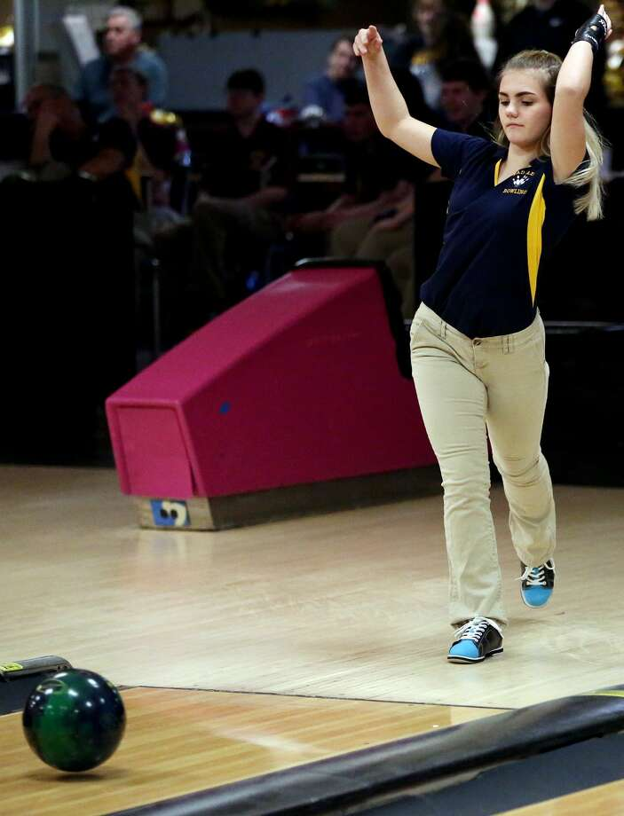 Reese at Bad Axe — Bowling 2018 Photo: Paul P. Adams/Huron Daily Tribune