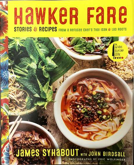 "James Syhabout's ""Hawker Fare"" cookbook will be published this month by Harper Collins. Photo: Michael Bauer, The Chronicle"