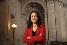 San Francisco Supervisor Jane Kim poses for a portrait inside City Hall in San Francisco., on Fri. January 5, 2018.