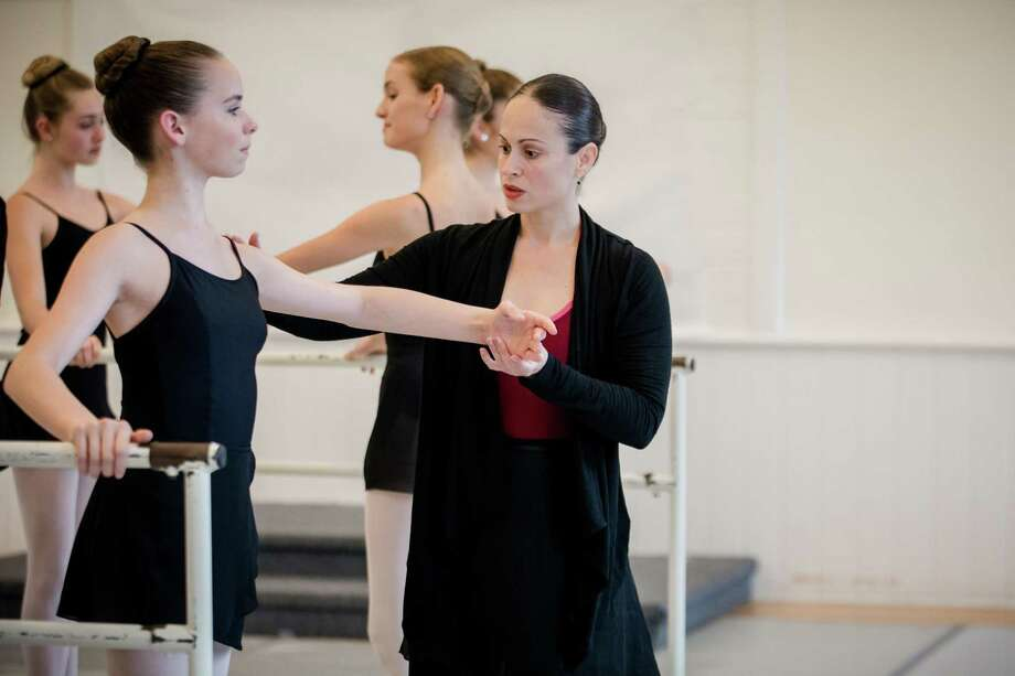 One of the directors at New England Academy of Dance in New Canaan, Ginna Ortiz has danced since age six. Photo: Contributed Photo / New Canaan News contributed