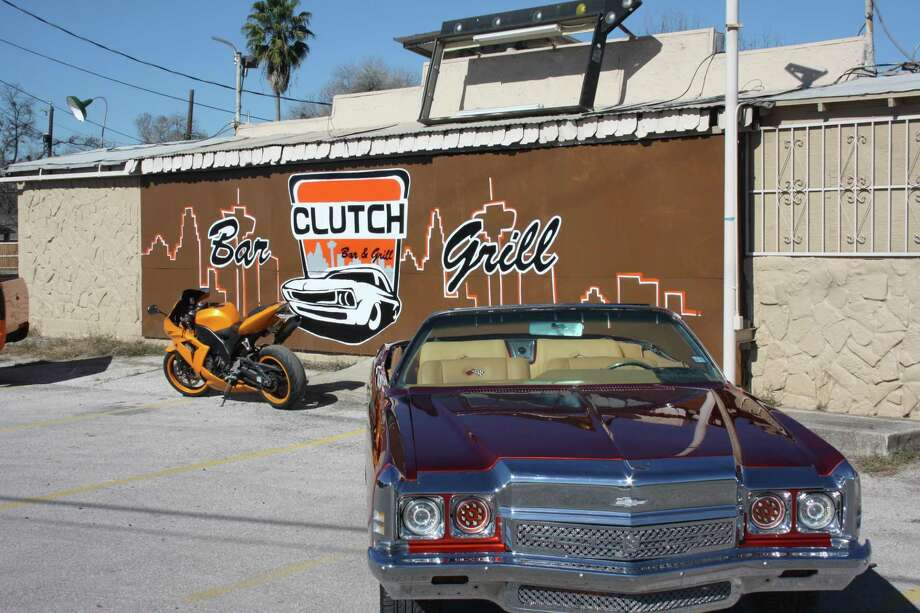 Clutch Bar and Grill, which caters to car enthusiasts, had its grand-opening party on New Year's Eve at 2603 Rigsby after an extensive 18-month renovation process of what was the former Alamo City Bar. Photo: Chuck Blount /San Antonio Express-News